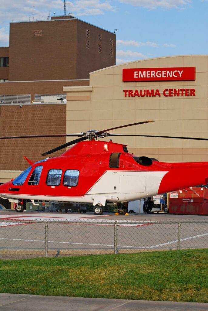 emergency trauma center building